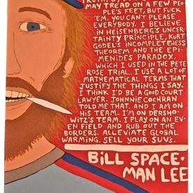 Bill Spaceman Lee